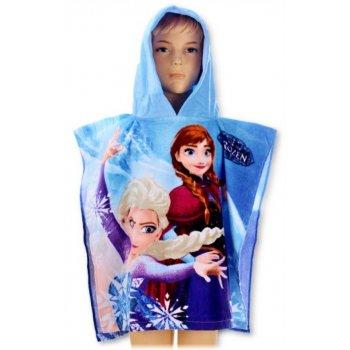 Pončo - osuška s kapucí Ledové království - Frozen