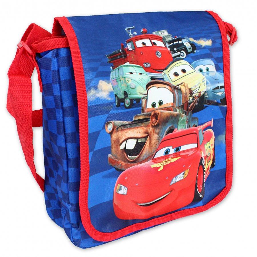 Setino · Velká taška přes rameno Auta - Cars - McQueen s kamarády - 22,5 x 18,5 cm