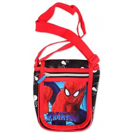 Taška přes rameno s klopou Spiderman