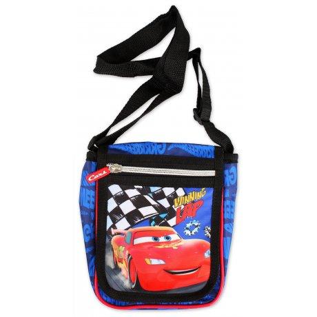 Taška přes rameno s klopou Auta - Blesk McQueen