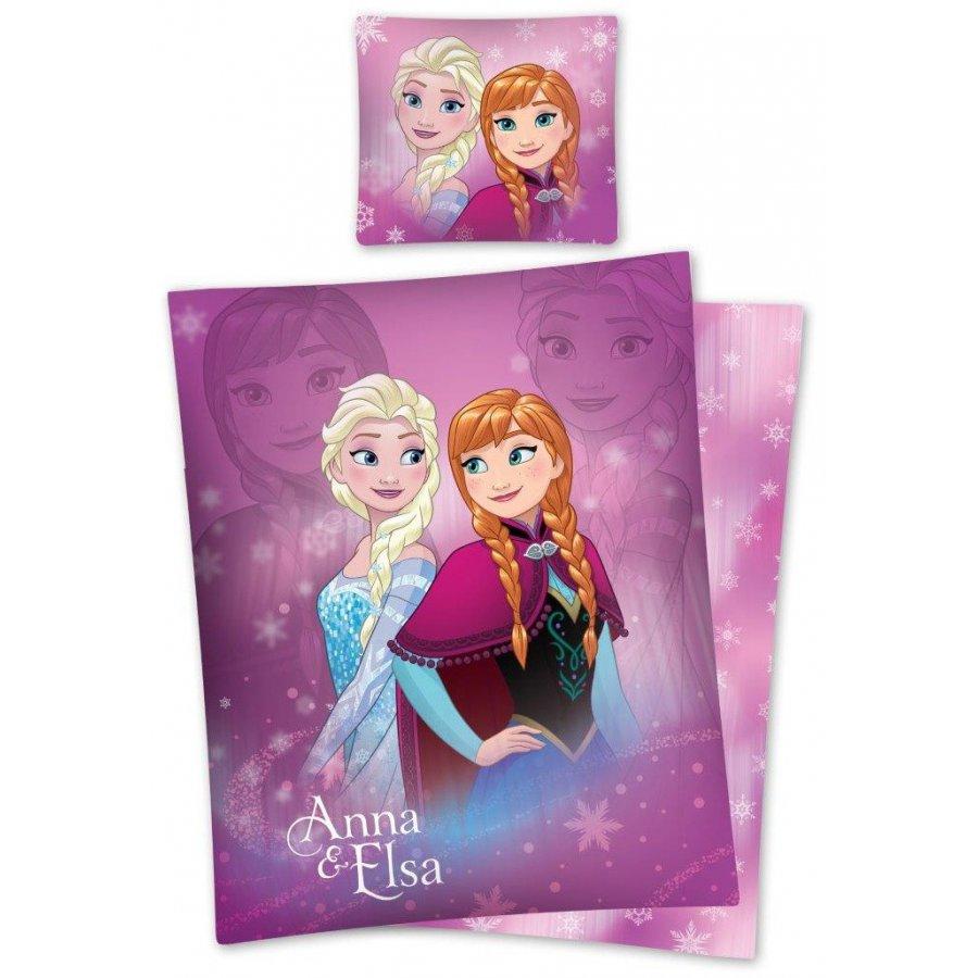 Bavlněné povlečení Ledové království - Anna & Elsa