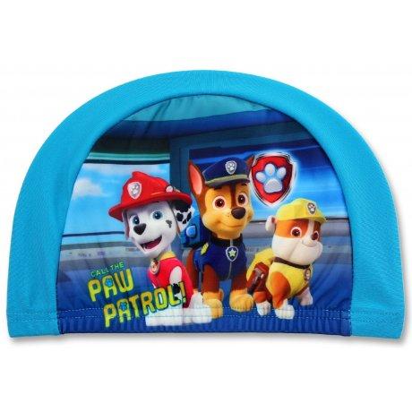 Dětská koupací čepice Tlapková patrola - modrá