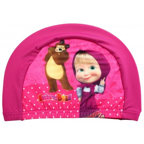 Dětská koupací čepice Máša a medvěd