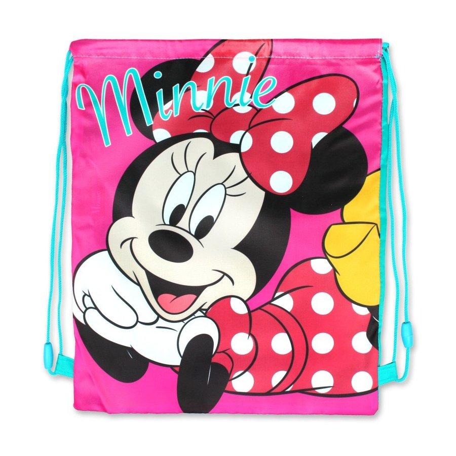 Setino · Sáček na přezůvky / vak na záda Minnie Mouse - Disney - 40 x 32 cm