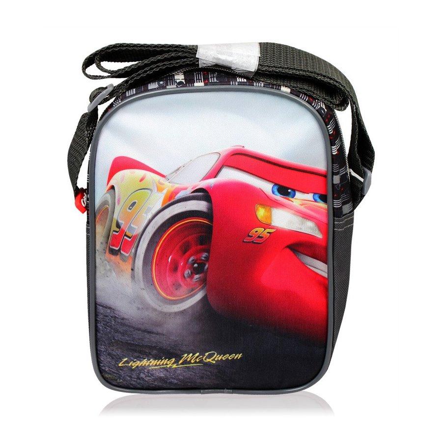 Setino · Dětská taška přes rameno Auta 3 - Cars 3 - Blesk McQueen -22 x 16 x 8 cm