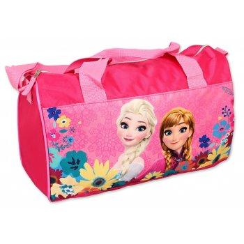 Sportovní taška Ledové království - sv. růžová