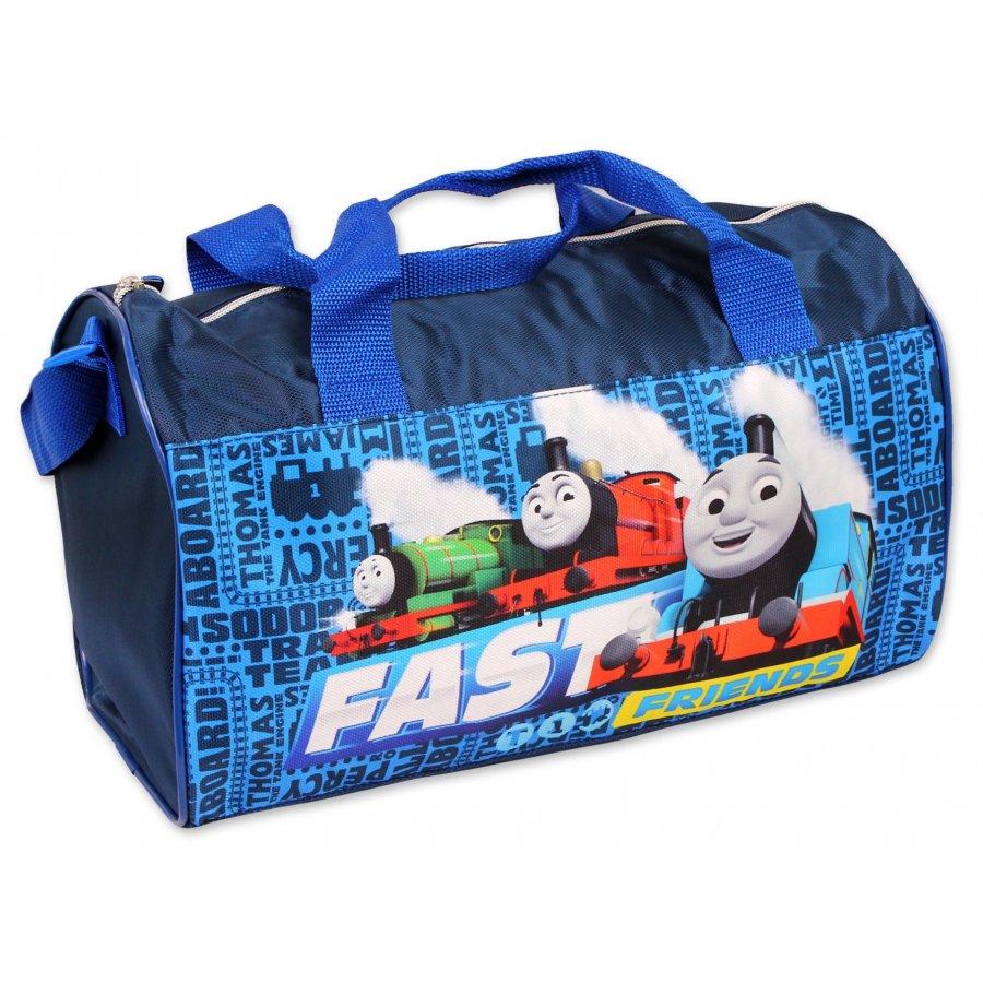 Sportovní taška Mašinka Tomáš - modrá