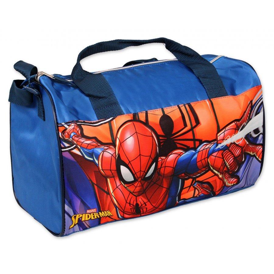 Setino · Dětská sportovní / cestovní taška Spiderman - 22 x 38 x 20 cm