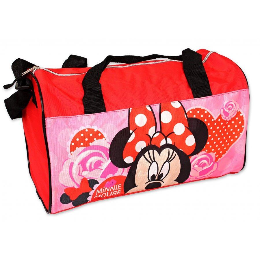 Sportovní taška Minnie Mouse - Disney - červená
