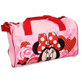 Sportovní taška Minnie Mouse - Disney - růžová