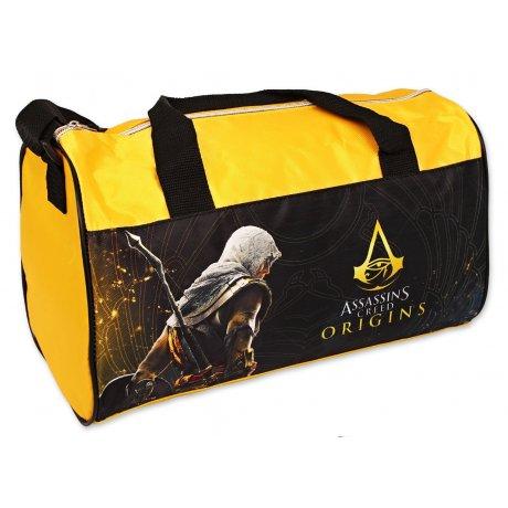 Sportovní taška Assassin's Creed - žlutá