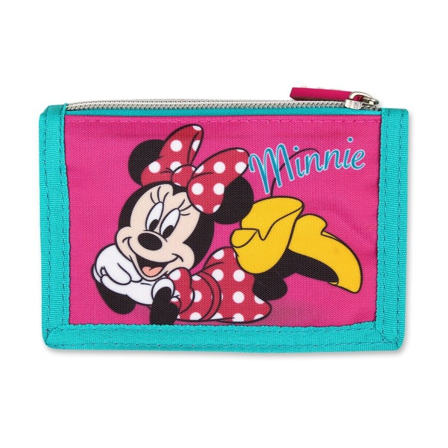 Setino · Dětská textilní peněženka Minnie Mouse - Disney - pro holky