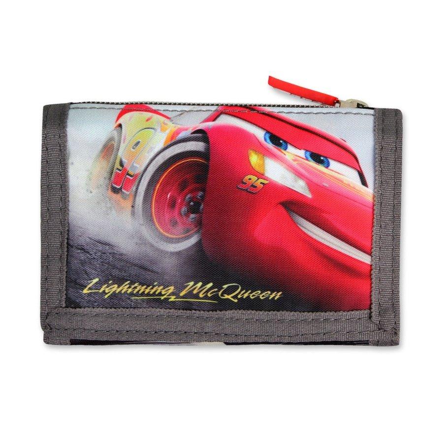 Setino · Dětská textilní peněženka Blesk McQueen - Auta 3 - Cars - pro kluky