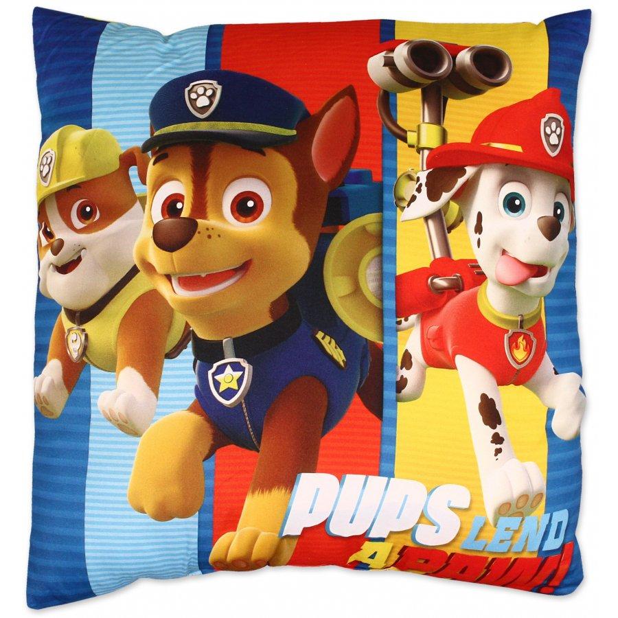 Polštář Tlapková patrola - Pups lend a paw