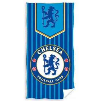 Fotbalová osuška FC Chelsea - pruhy