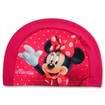 Dětská koupací čepice Minnie Mouse - růžová