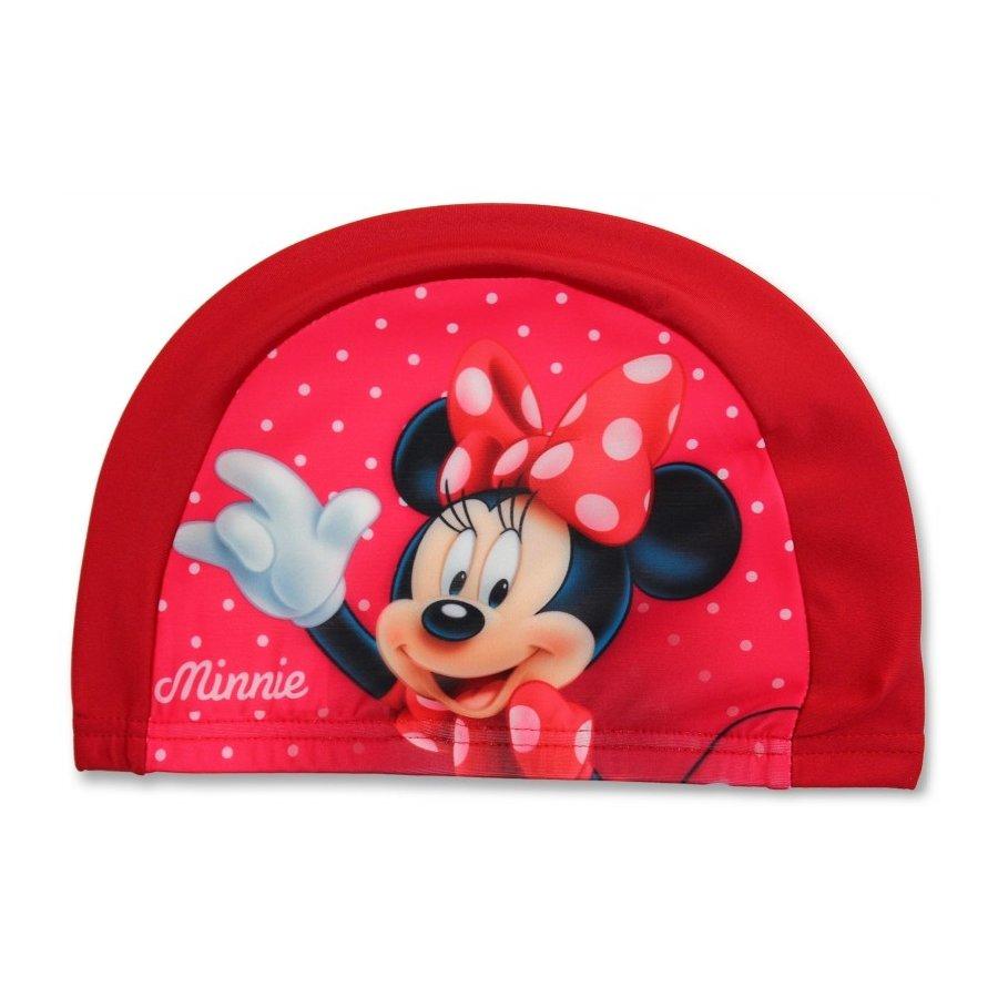 Setino · Dětská koupací čepice Minnie Mouse - červená