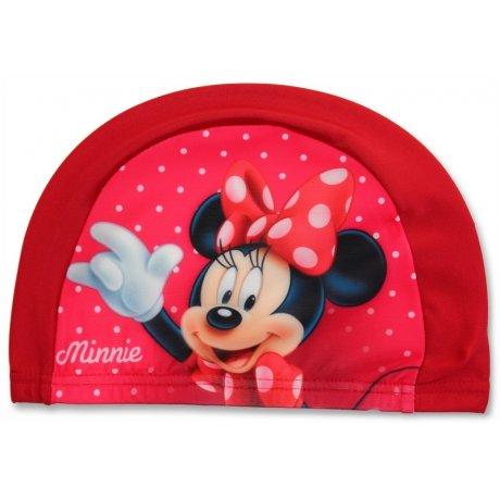 Dětská koupací čepice Minnie Mouse - červená