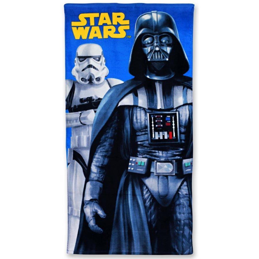 Setino · Plážová osuška Star Wars - Darth Vader a Stormtrooper - 70 x 140 cm