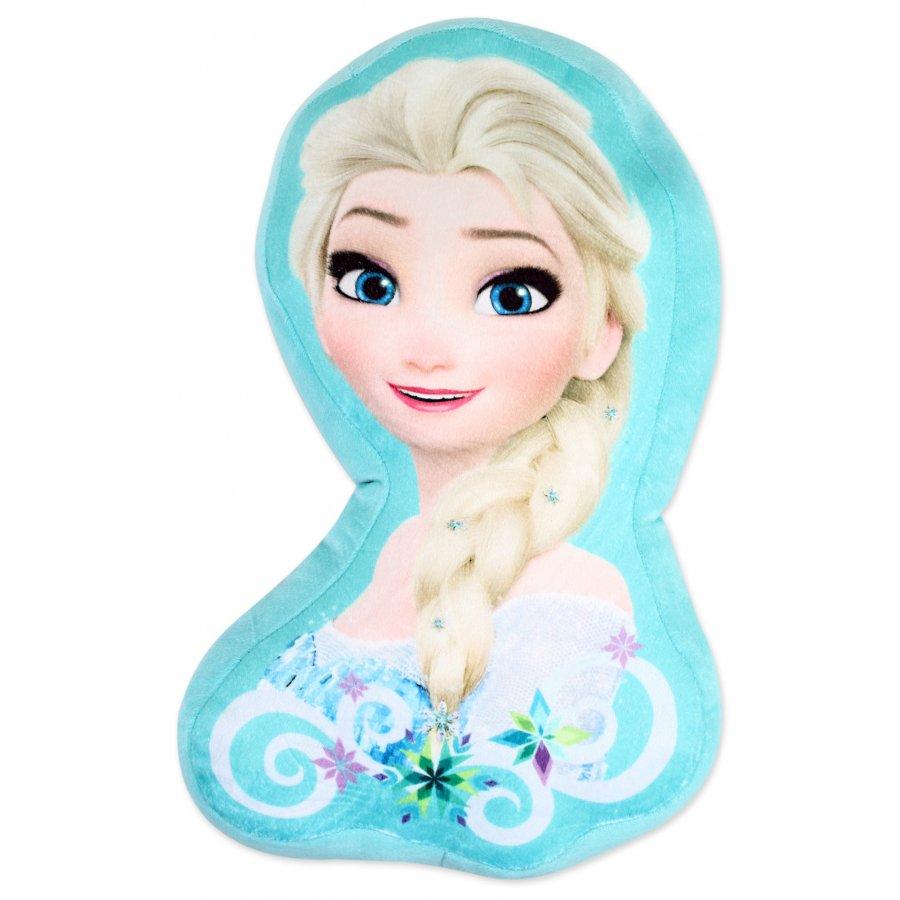 Tvarovaný polštářek Ledové království - Elsa