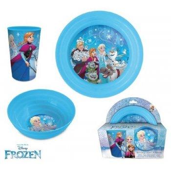 Jídelní sada plastového nádobí Ledové království - Frozen