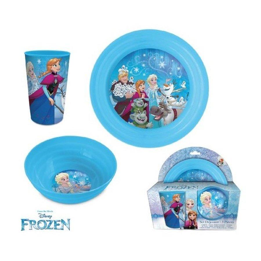 Eli · Jídelní sada plastového nádobí Ledové království - Frozen