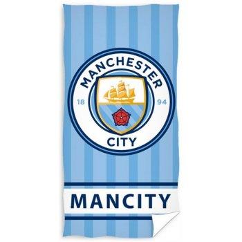 Fotbalová osuška FC Manchester City - Stripes