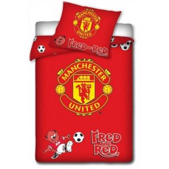 Povlečení do dětské postýlky Manchester United