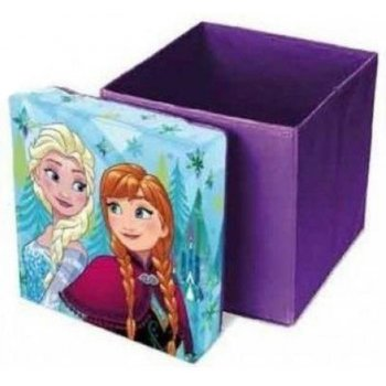 Taburet s úložným prostorem Ledové království - Frozen