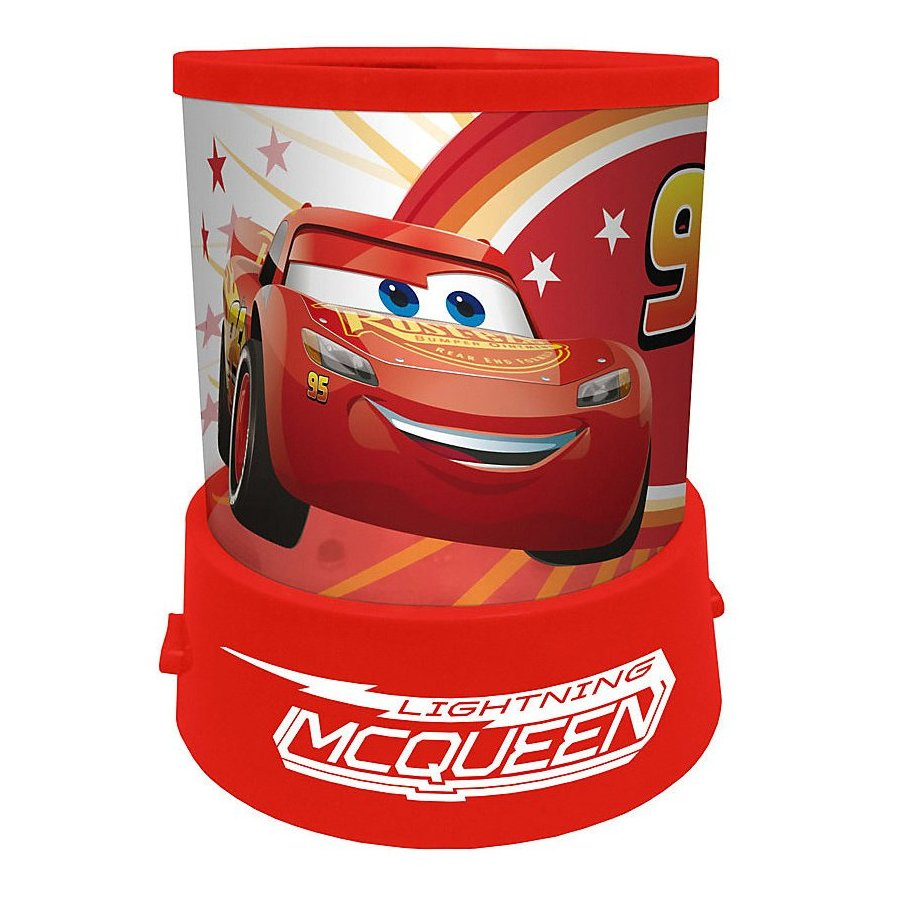 Lampička s projekcí Auta - Blesk McQueen