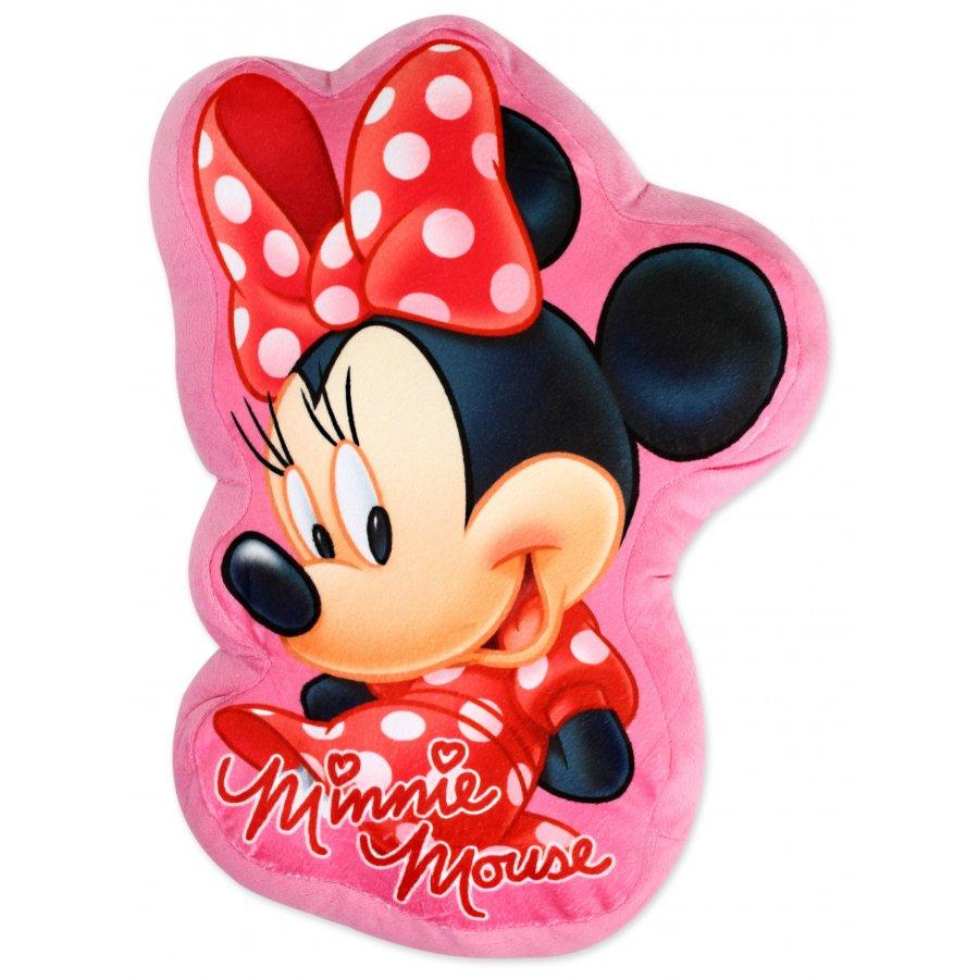 Setino · Tvarovaný 3D polštář Minnie Mouse - Disney - 37 x 29 cm