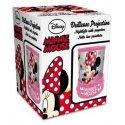 Noční lampička s projekcí Minnie Mouse - Disney