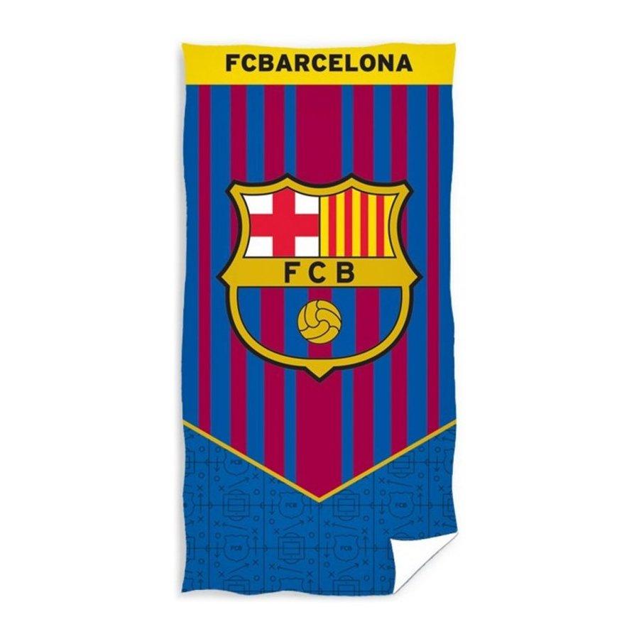 Carbotex · Fotbalová osuška FC Barcelona - BARCA - 70 x 140 cm