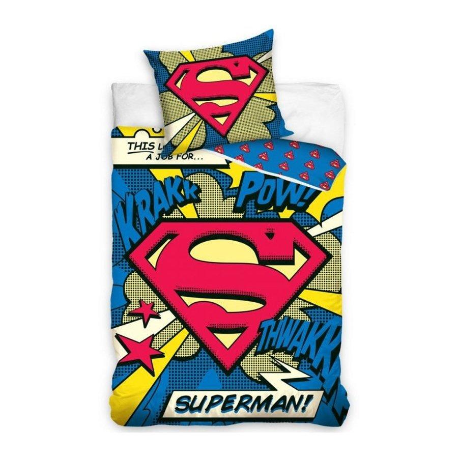 Bavlněné povlečení Superman