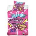 Bavlněné povlečení Supergirl