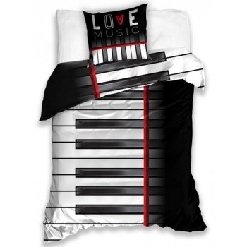 Bavlněné ložní povlečení Piano