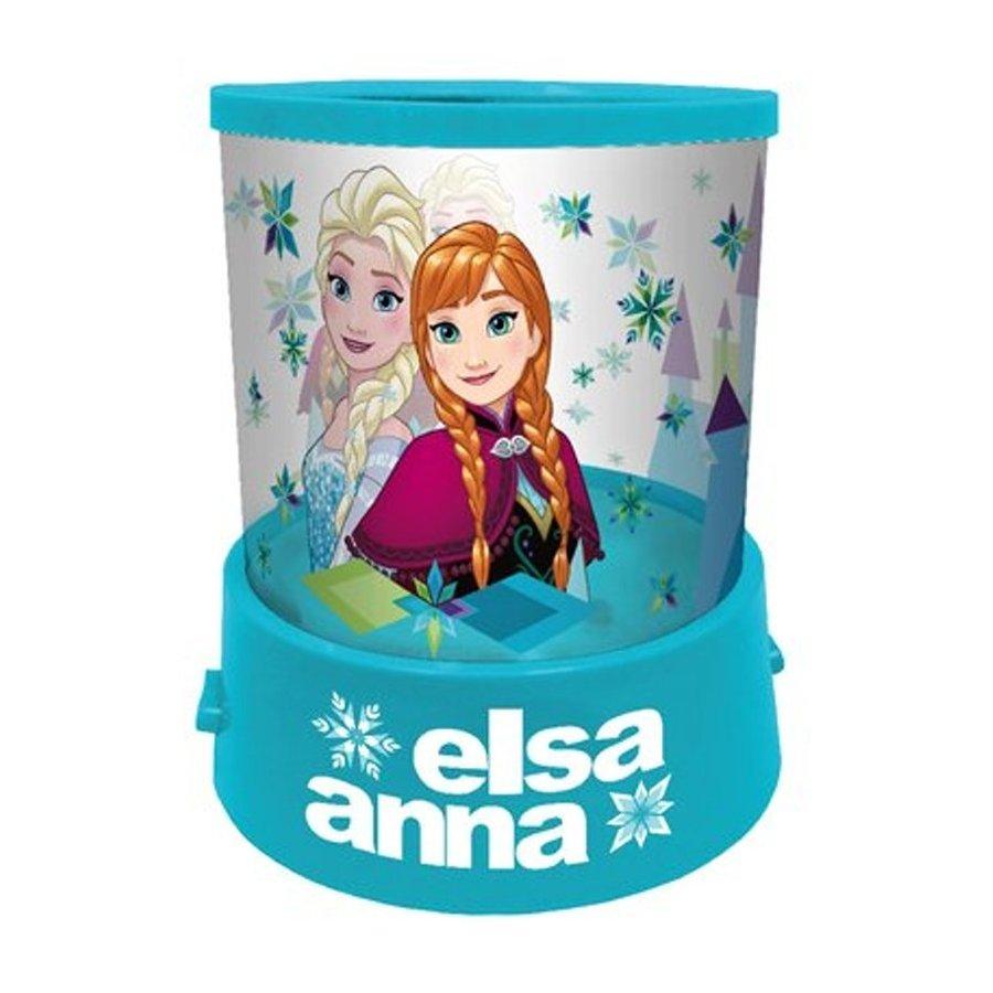 Eli · Dětská usínací / noční lampa s projekcí Ledové království - Frozen - Anna & Elsa