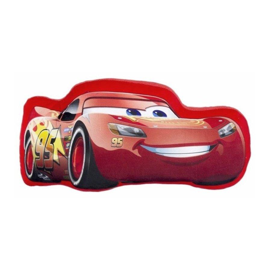 Tvarovaný polštář Auta - Blesk McQueen