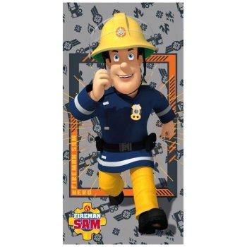 Plážová osuška Požárník Sam - Fireman Sam