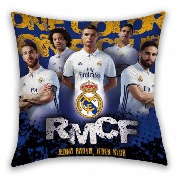 Polštář FC Real Madrid - Jedna barva, jeden klub
