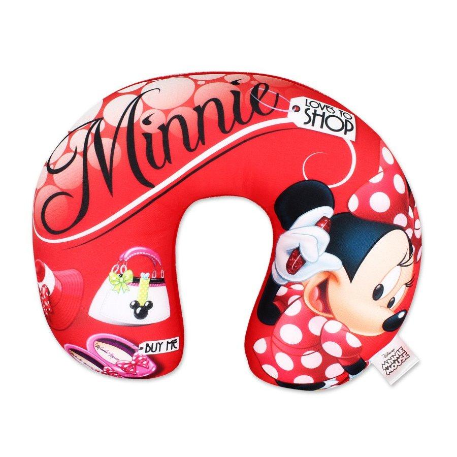 Setino · Cestovní polštář okolo krku Minnie Mouse - Disney - 31 x 26 x 8 cm