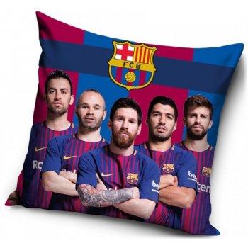 Polštář FC Barcelona - fotografie hráčů
