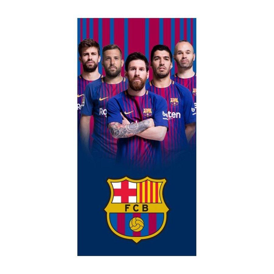 Fotbalová osuška FC Barcelona - fotografie hráčů