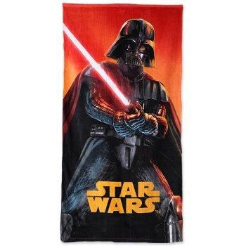 Plážová osuška Star Wars - Darth Vader se světelným mečem