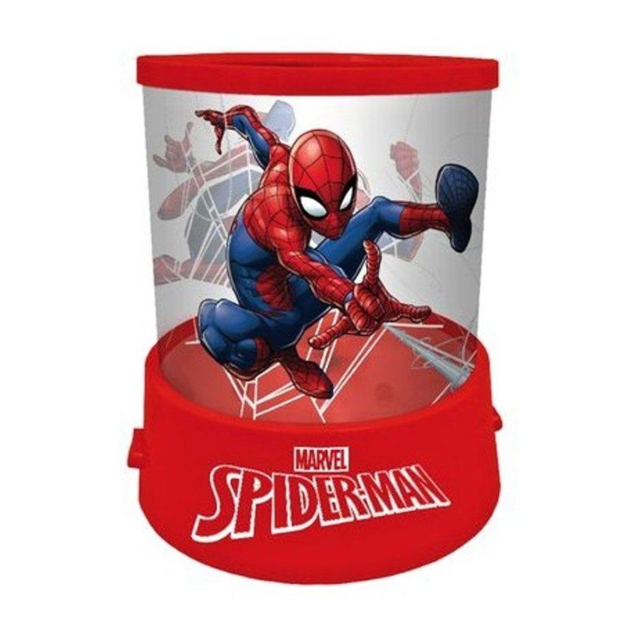 Noční lampička s projekcí Spiderman