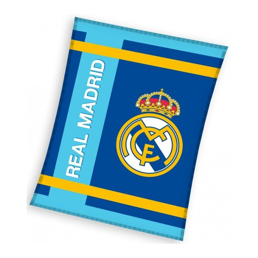 Deka coral fleece FC Real Madrid - Blue Stripes