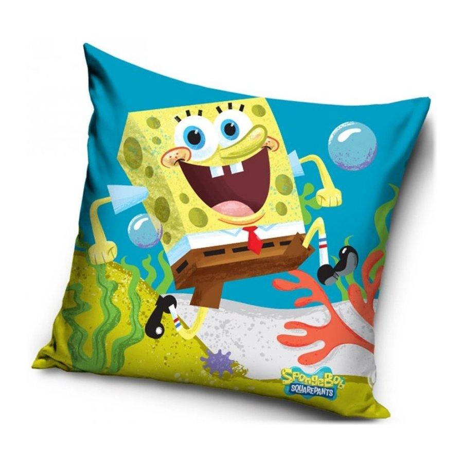 Carbotex · Polštář veselý Spongebob - 40 x 40 cm