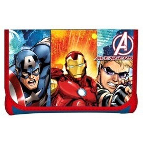 Dětská peněženka Avengers - červená