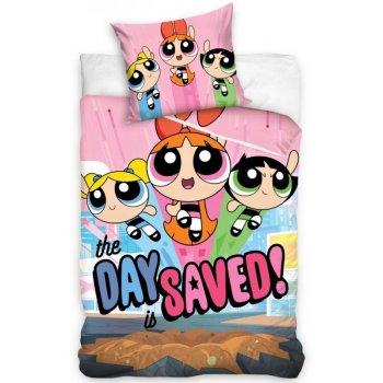 Bavlněné povlečení The Powerpuff girls - The day is saved