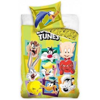 Bavlněné ložní povlečení Looney Tunes